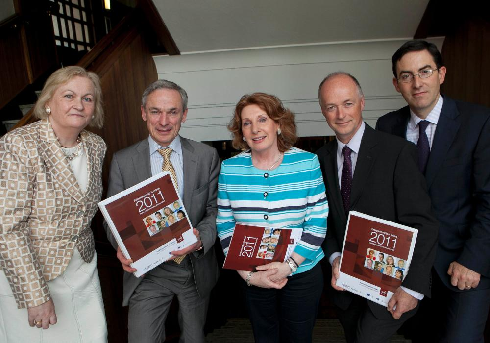 at the launch of the 2011 Global Entrepreneurship Monitor (GEM) Report