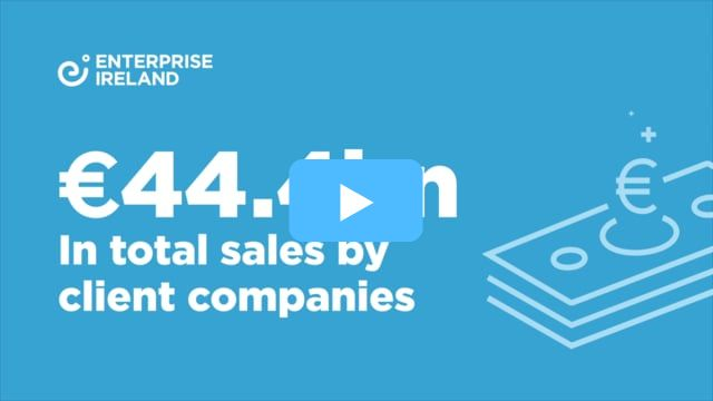 Total sales of €44.4bn by Enterprise Ireland clients in 2017