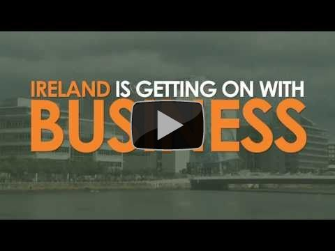 Ireland is getting on with business